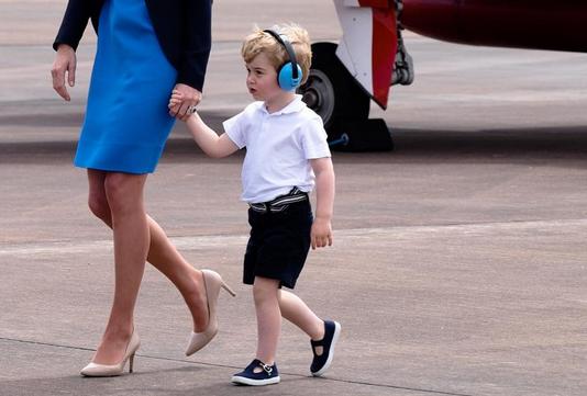 Darum trägt Prinz George IMMER kurze Hosen