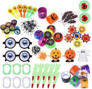 Mitgebsel für die Kinder einer Halloweenparty