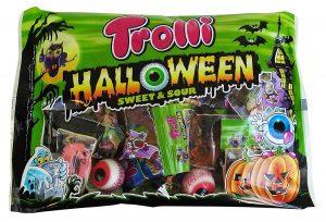 Süßigkeitenmix für die Halloweenparty