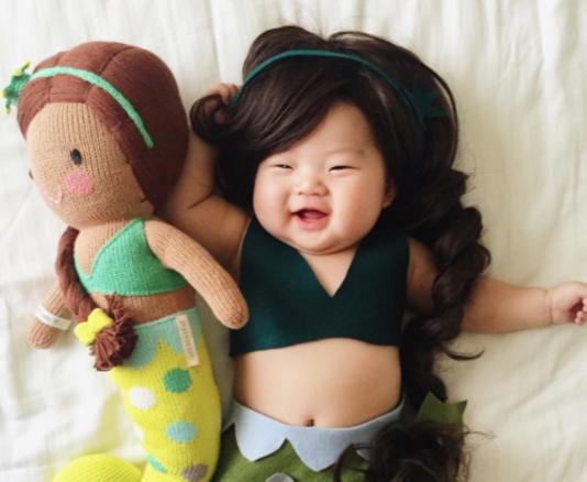 Meerjungfrau und Han Solo: Dieses Baby hat die besten Halloween-Verkleidungen!