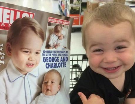 """""""Mein Patenkind denkt, er ist Prinz George 😂"""""""