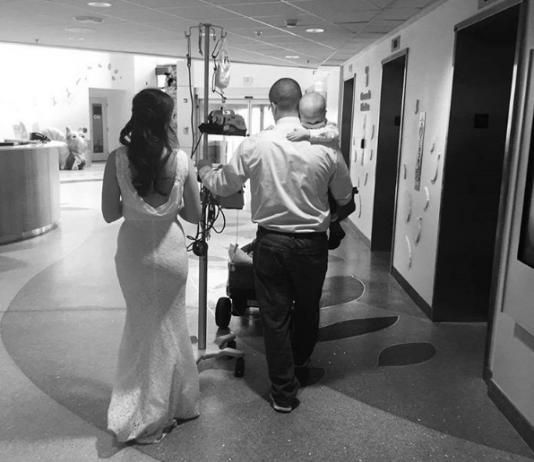 Hochzeitstag im Krankenhaus! Die berührende Geschichte hinter diesem Foto