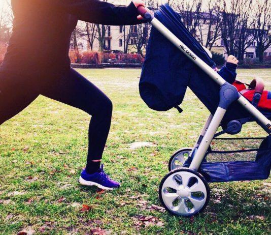 Entspannt und sportlich: Mit Baby und Buggy