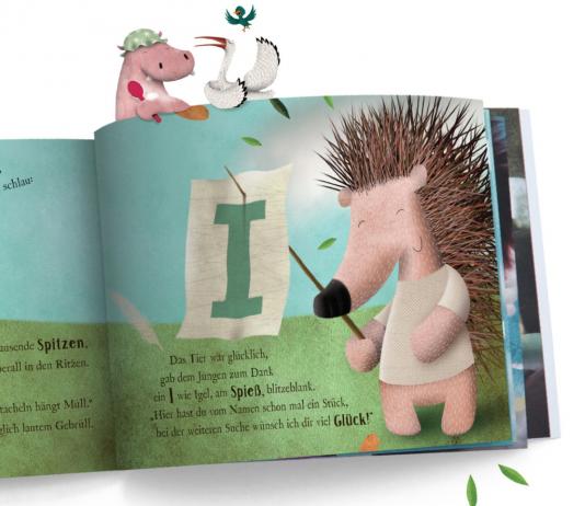 Tolles Geschenk: ein personalisierbares Namens-Buch!