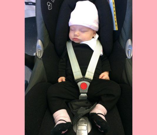 Babyschale + Baby – ist dir auch zu schwer? Dieser Tragegriff-Trick ist die Rettung: