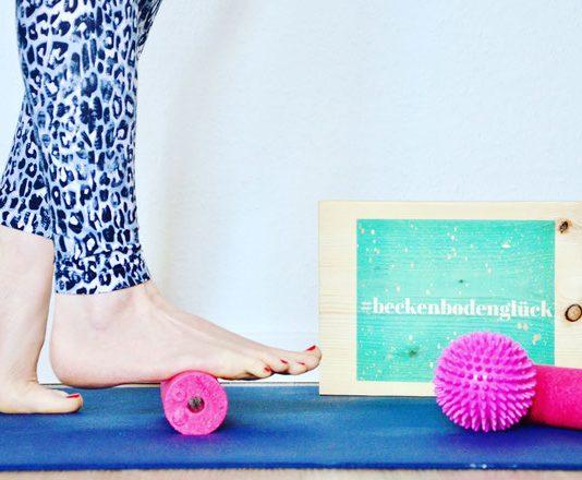 Beckenboden Tipps Alltag: Fußtraining