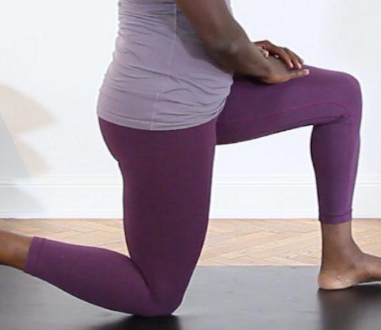 Beckenbodentraining: Frauenbeine Übung