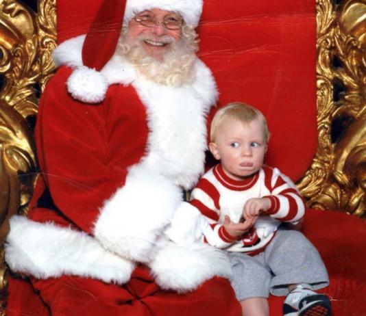 Geheime Zeichen: Wenn die erste Begegnung mit Santa schiefläuft