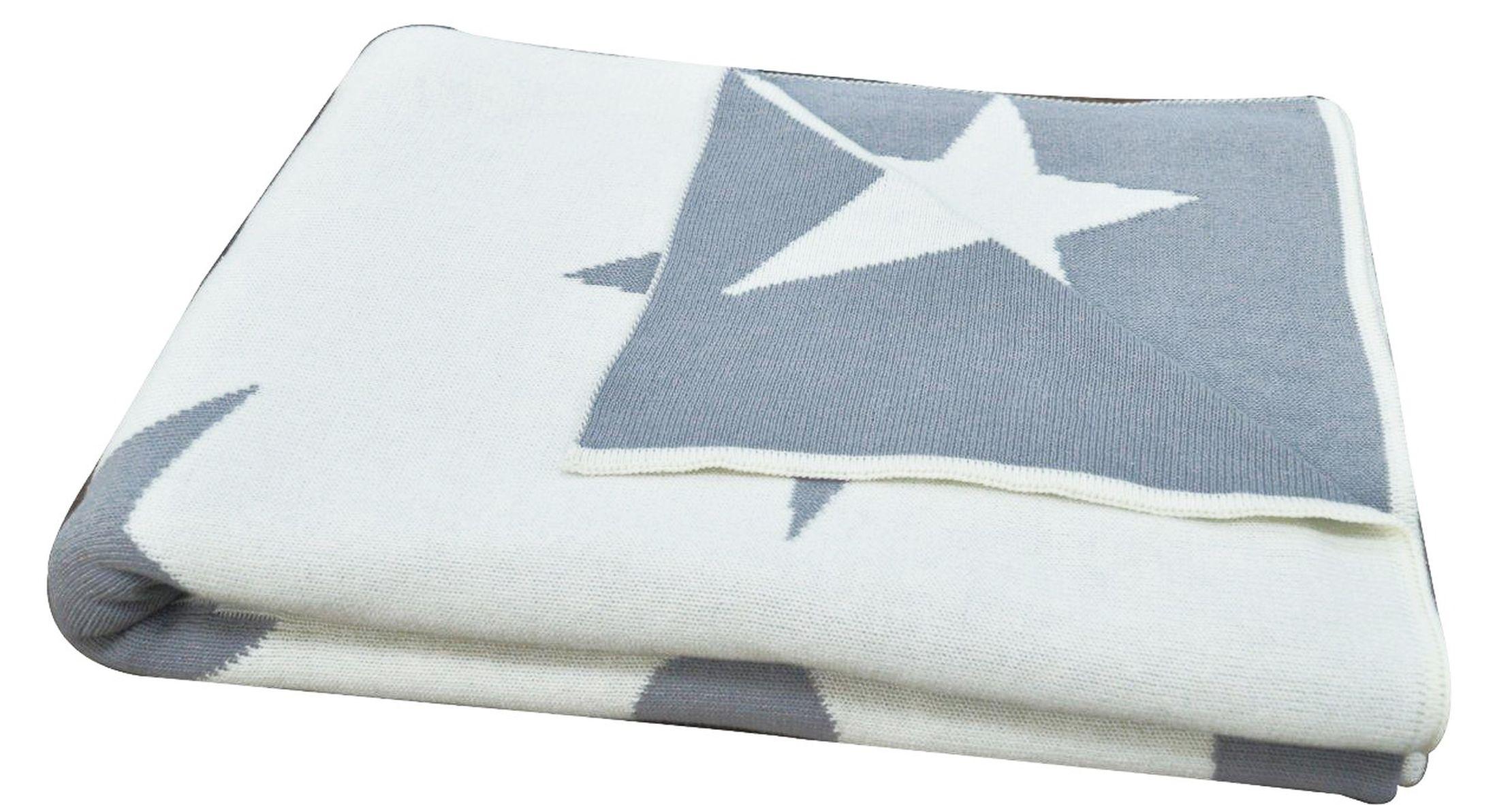 Decke Stars.Livone Happy Style Decke Stars 130x180 Cm Grau Vk 79 00