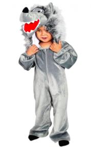 Faschingskostüm für Kinder: Wolf