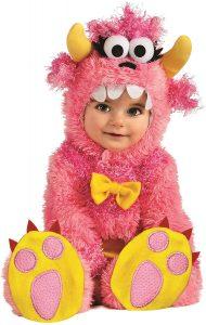 Faschingskostüm für Babys: Pinky Winky