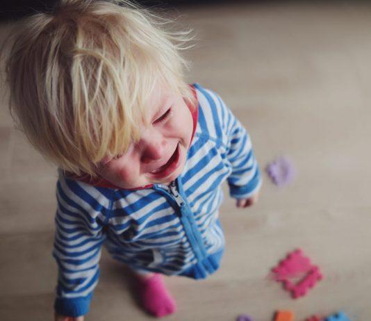 Weinendes Kind, Kleinkind