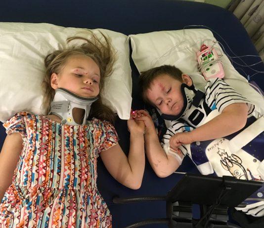 Nach Autounfall: Hier sehen sich Geschwister zum ersten Mal wieder