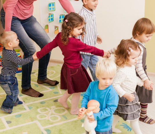 Kinder in der Kita
