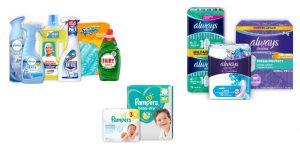 """Beim Kauf dieser P&G Produkte geht automatisch ein Cent pro Produkt an die Aktion """"Stück zum Glück"""""""