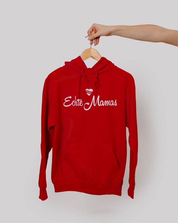 Echte Mamas Pullover rot