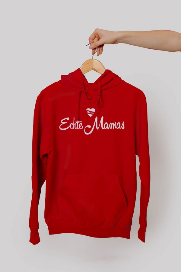 Echte Mamas Pullover rot