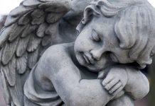 Statue kleiner Engel, Sternenkind