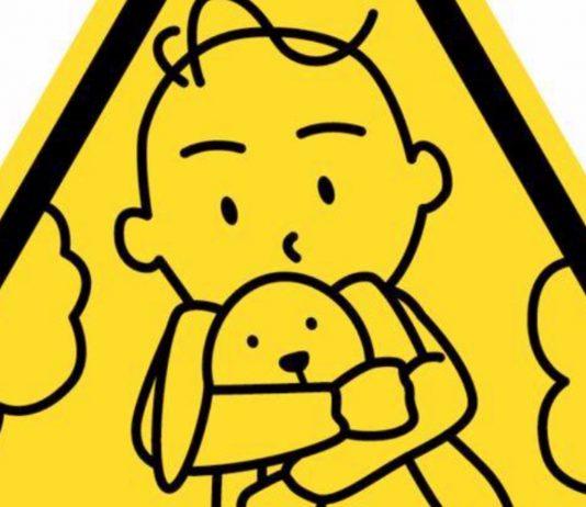 Schon gesehen? Dieser kleine Sticker kann Kinderleben retten
