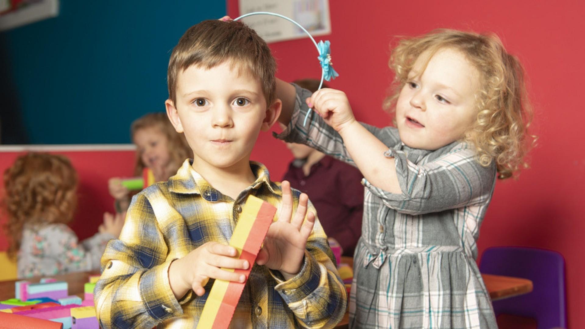 Kinder können sich in der Kita mit Krankheiten anstecken