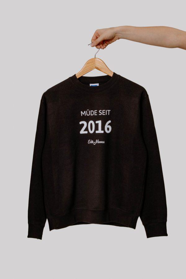 Echte Mamas Pullover schwarz