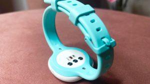 Sensoren auf der Rückseite des Ava Armbandes