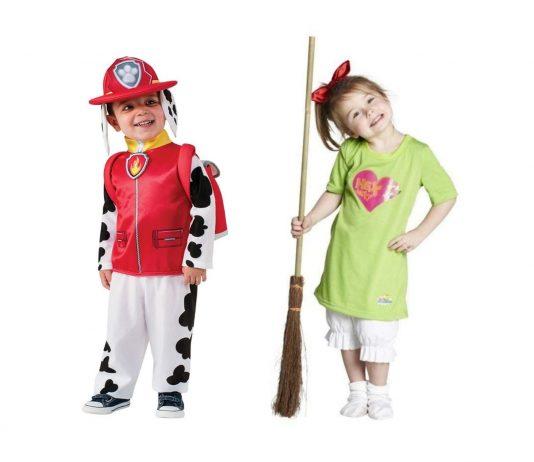 Kinderserien Kostüme Ideen: Marshall aus Paw Patrol oder Bibi Blocksberg