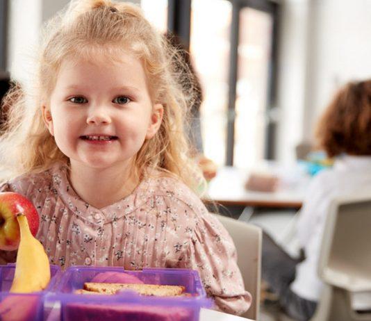 Frühstücksbox für den Kindergarten