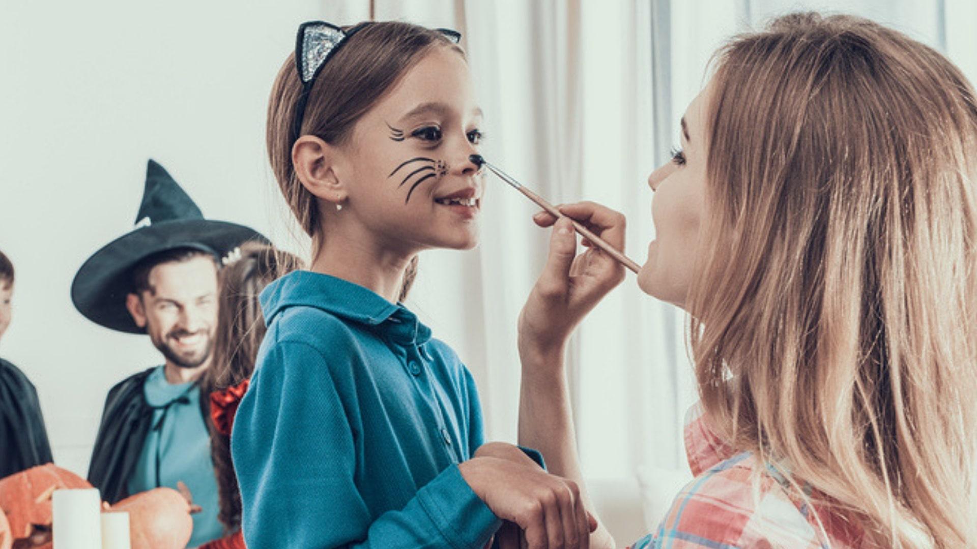 Kinderschminken Fur Fasching Anleitung Schritt Fur Schritt