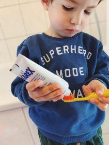 Karex enthält keine Fluoride und ist für Kinderzähne geeignet
