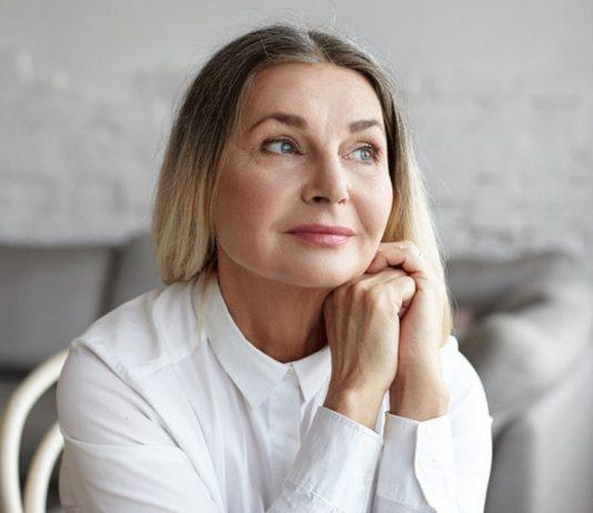 Frau mit 50