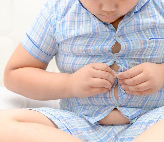 Kind mit Übergewicht