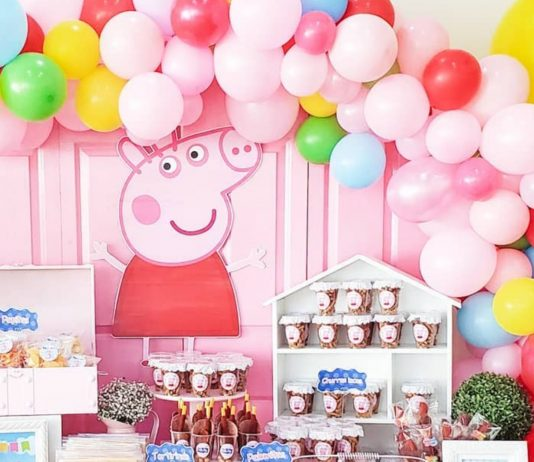 Peppa Wutz Party-Ausstattung