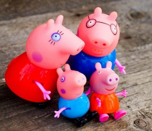Peppa Wutz und ihre Familie