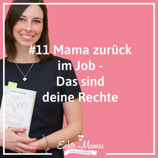 Podcast zum Arbeitsrecht für Mütter