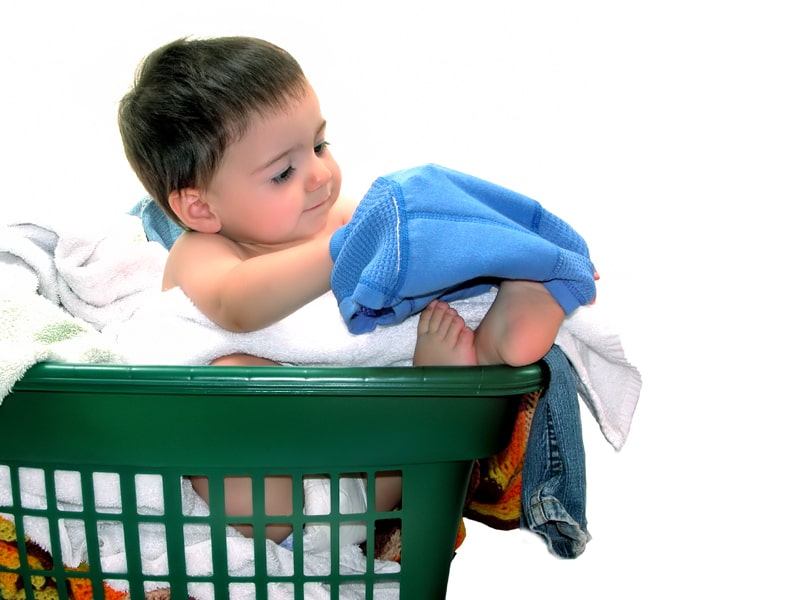 Babywaschmittel ist schonend
