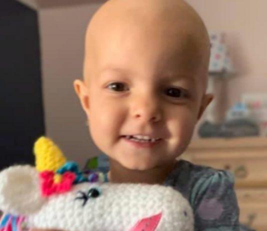 Junge mit Krebs