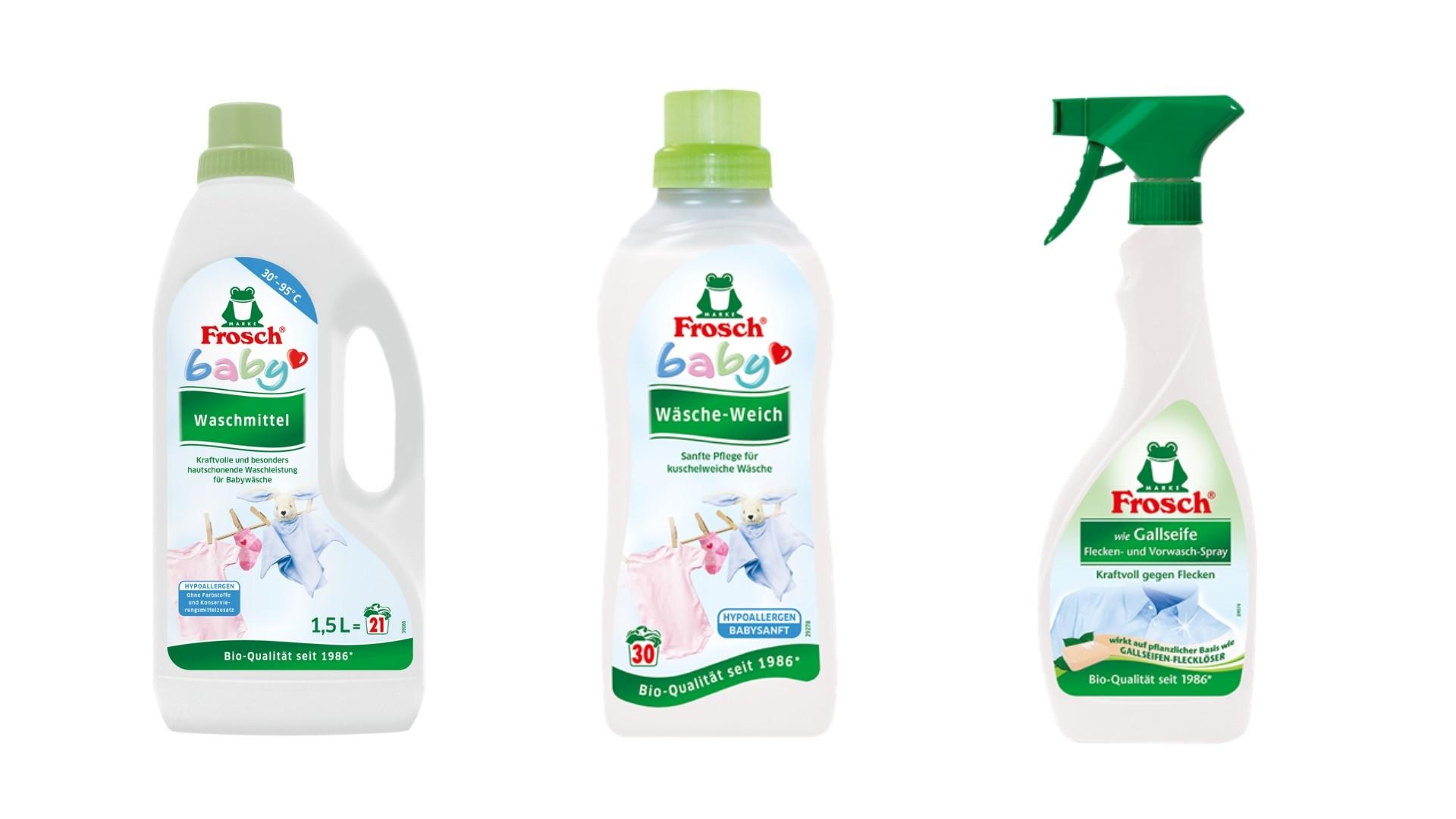 Waschmittel für Babys von Frosch