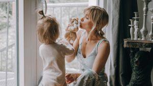 Isabell Horn mit Tochter Ella