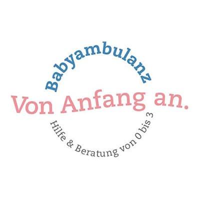 logo babyambulanz von anfang an 1x1