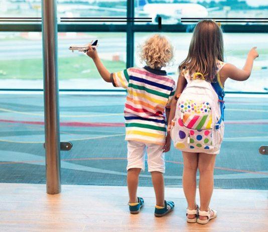 alleinreisende Kinder