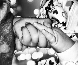 Sehschwäche: Christina fühlt, wie ihre Kinder aussehen