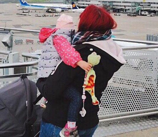 Christina meistert den Alltag mit ihren Kindern trotz Sehschwäche