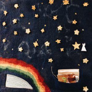 Eine Wand voller Erinnerungen: Sternenkindwand im Krankenhaus