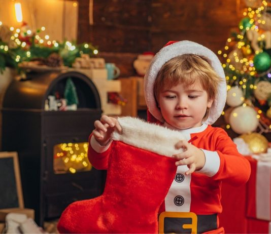 Besondere Weihnachtsgeschenke für Kinder: Jungepackt Weihnachtsstrumpf aus