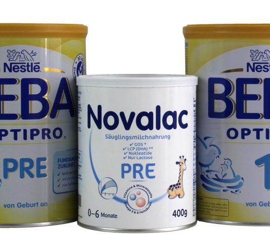 Babynahrung von Nestlé und Novalac ist mit Mineralöl belastet