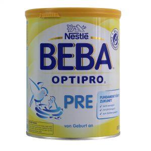 Nestlé Beba Optipro PRE - die Babynahrung ist mit Mineralöl belastet