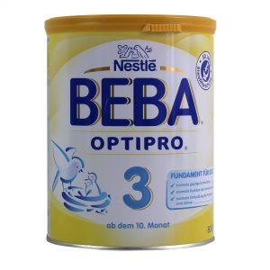 Nestlé Beba Optipro 3 war als einzige Babynahrung nicht mit Mineralöl belastet