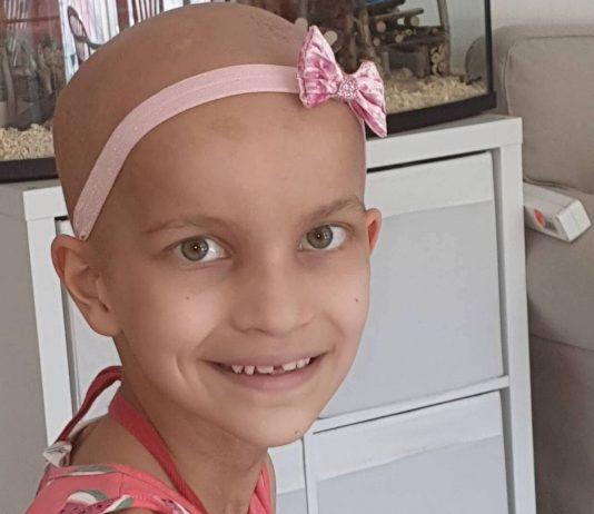 Bösartiger Hirntumor bei Kindern: Pia kämpft tapfer
