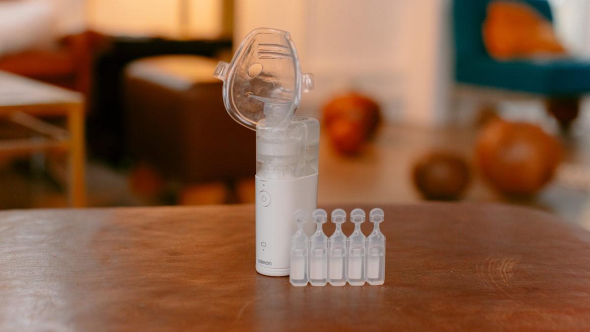 Inhalator Omron MicroAIR U100 - ein guter Tipp, wenn das Kind ständig krank ist